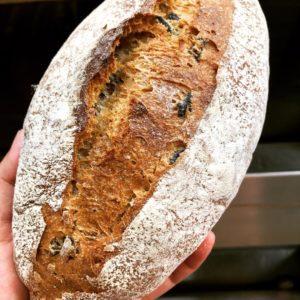 Black olive Loaf