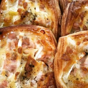 Danish - Ham Cheese onion